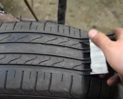 Video shows how scam artists make old, bald tires look new again, automotive