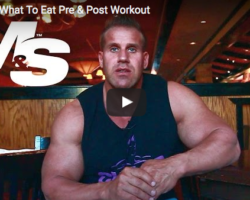Jay Cutler, Muscle and Strength, workout supplements
