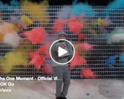 OK Go video for The One Moment