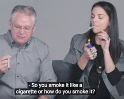 Video:  Parents and Kids Get High Together for the First Time