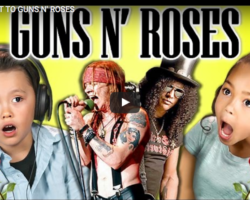 Kids Reacting to Guns N' Roses