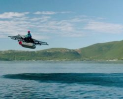 Flying Car: The Kitty Hawk Flyer. Larry Page