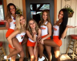 Sexy Hooters Girls
