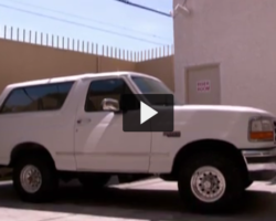 O.J. Simpson's Infamous White Ford Bronco is for Sale