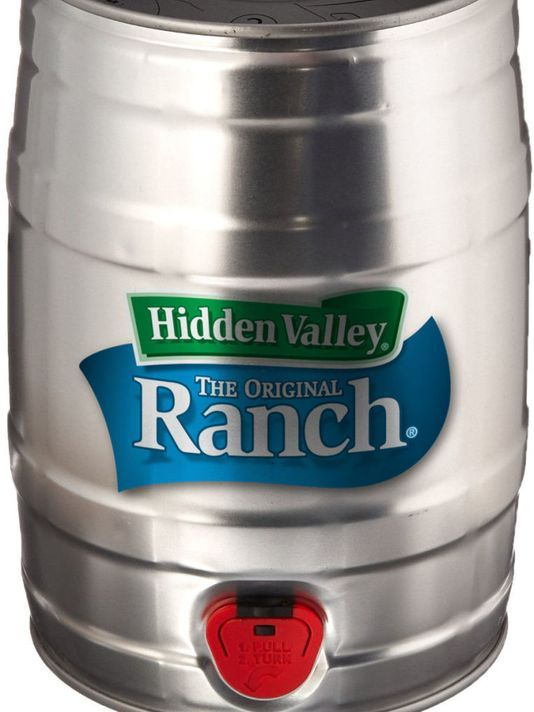 Hidden Valley Ranch Dressing by the keg