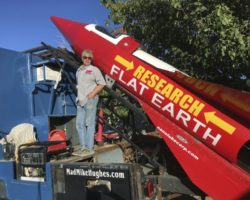 Mike Hughes Plans to Launch Himself into Space in Order to Prove Earthe is Flat