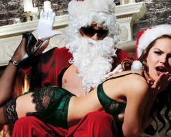 Santa's Naughty Little Helpers: Sexy Women in Christmas Lingerie